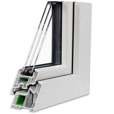 Fenêtre triple vitrage